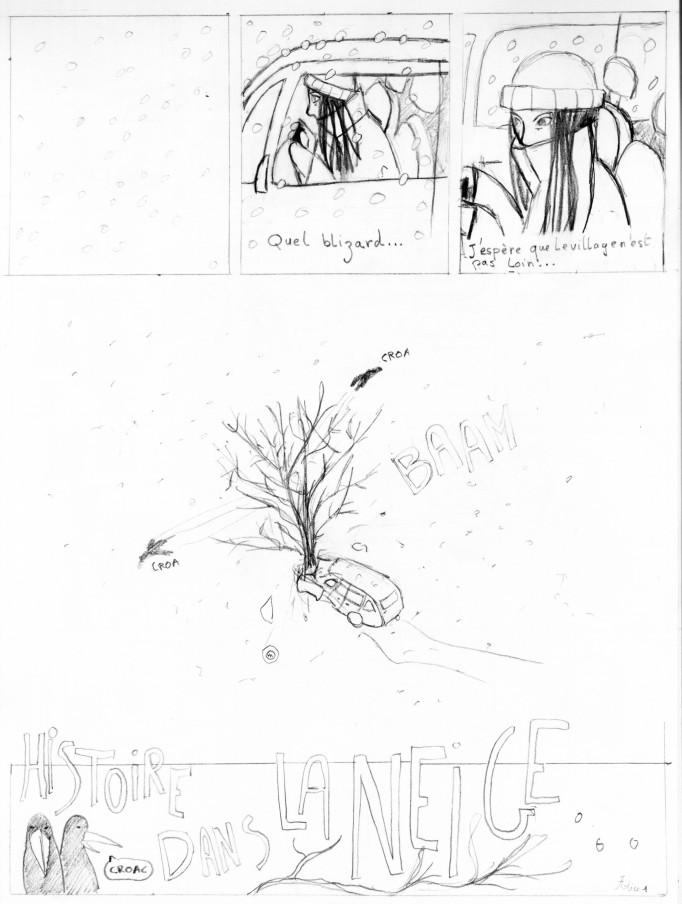 histoire dans la neige 1
